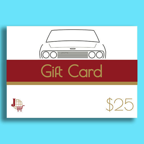 Picture of $25 Physical Gift Card